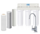 Triple Under Sink Filtration - Sediment, Carbon & Fluoride Removal