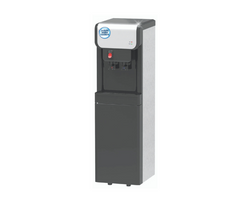 Black & Silver Auto Fill POU Hot & Cold Floor Standing Water Dispenser