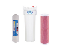 Twin Under Sink Filtration - Aragon & Alkahydrate Filters