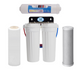Triple Under Sink Filtration - Carbon, Fluoride & Alkahydrate Filters