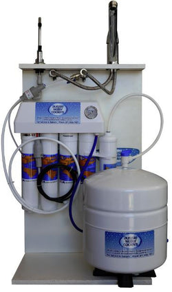 4 Stage Reverse Osmosis with Alkahydrate Filter