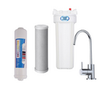 Twin Under Sink Filtration - Carbon & Alkahydrate Filters