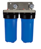 "Whole of House Filtration System - 10"" Twin Filtration Town Water System"