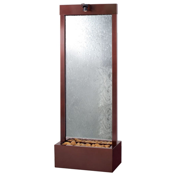 Gardenfall Dark Copper Trim Floor Fountain