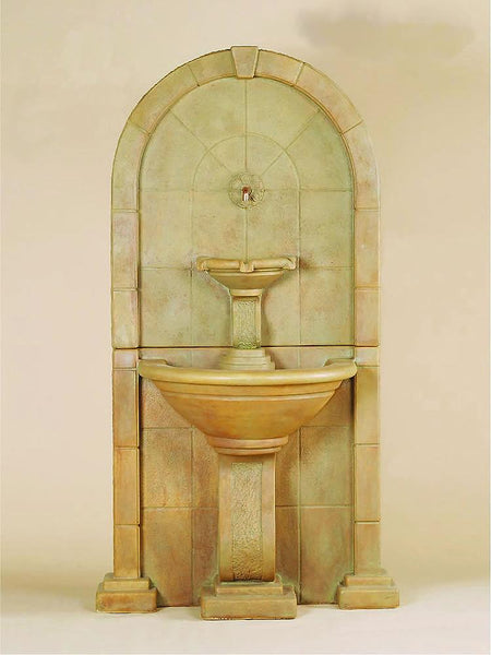 Amalfi Wall Outdoor Water Fountain