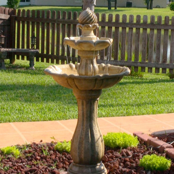 Arcade Outdoor Solar Floor Fountain
