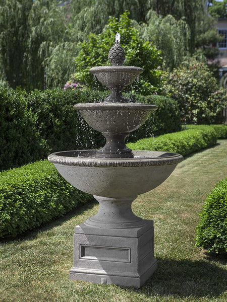 Beauport Tiered Outdoor Water Fountain