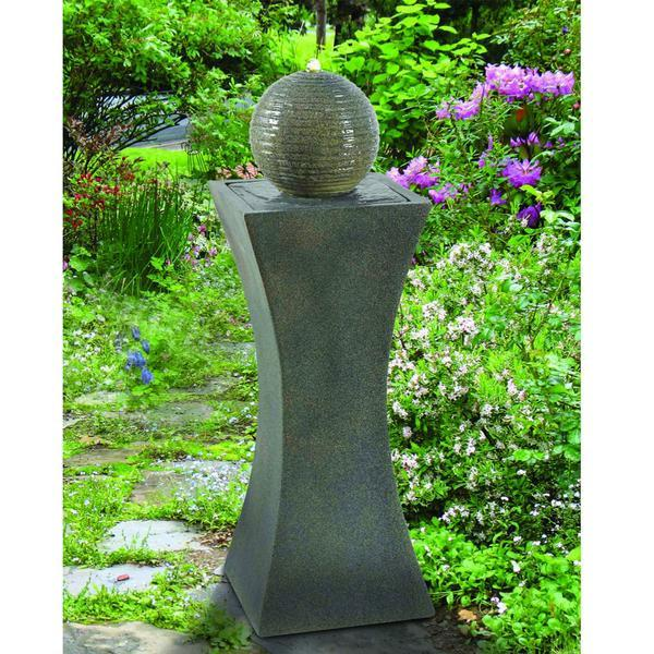 Kenroy Cannonade Solar Floor Fountain