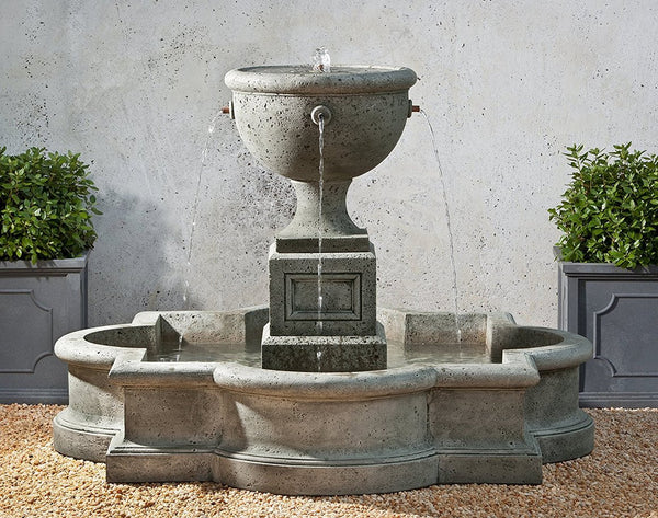 Navonna Outdoor Fountain with Pool