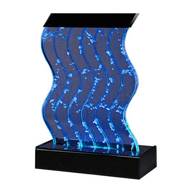 Water Panel Wave Bubble Fountain - Short