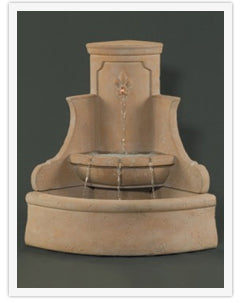 Corner Outdoor Fountains