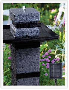 Solar Outdoor Fountains