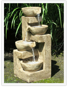 Waterfall Outdoor Fountains