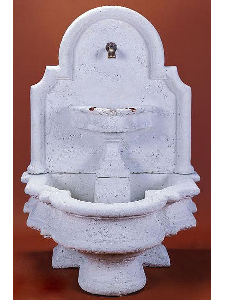 Foro Vesuvio Wall Outdoor Water Fountain - Soothing Walls