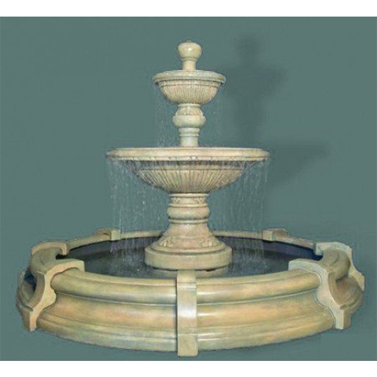 Two-Tier Traviata in Toscana Pool - Soothing Walls