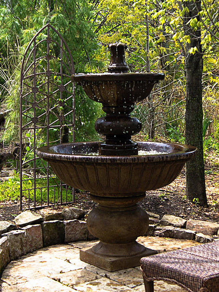 Siena Outdoor Water Fountain