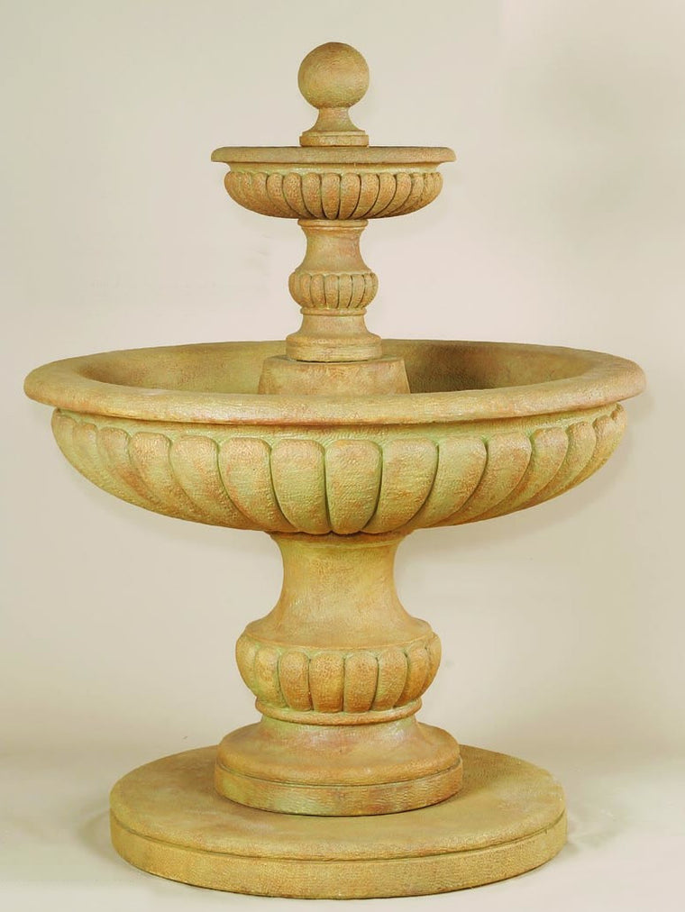Athene Two Tier Outdoor Water Fountain - Soothing Walls