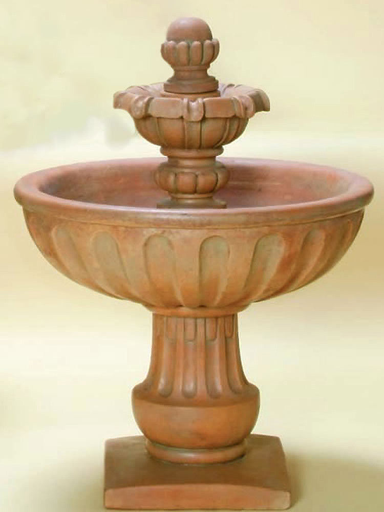 Alba Outdoor Water Fountain Short - Soothing Walls
