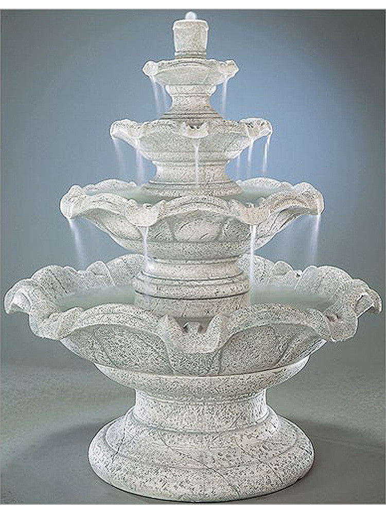 Quattro Classic Tier Fountain - Soothing Walls