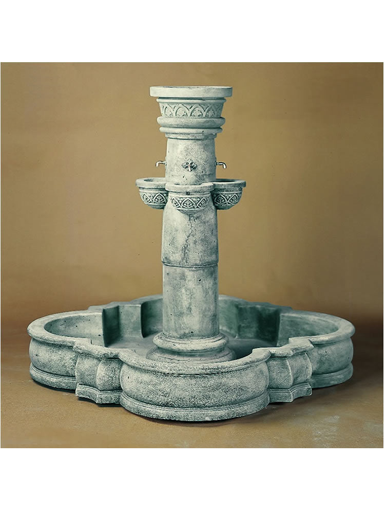 Del Moro Outdoor Water Fountain - Soothing Walls