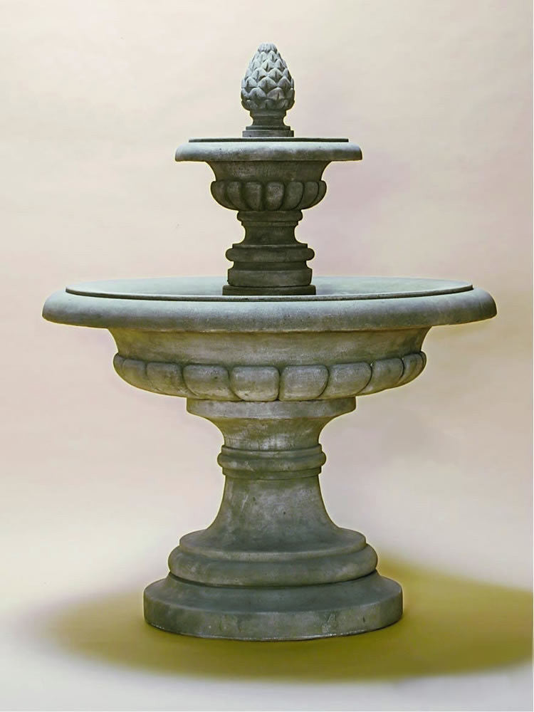 Fontana Grande Outdoor Water Fountain - Soothing Walls