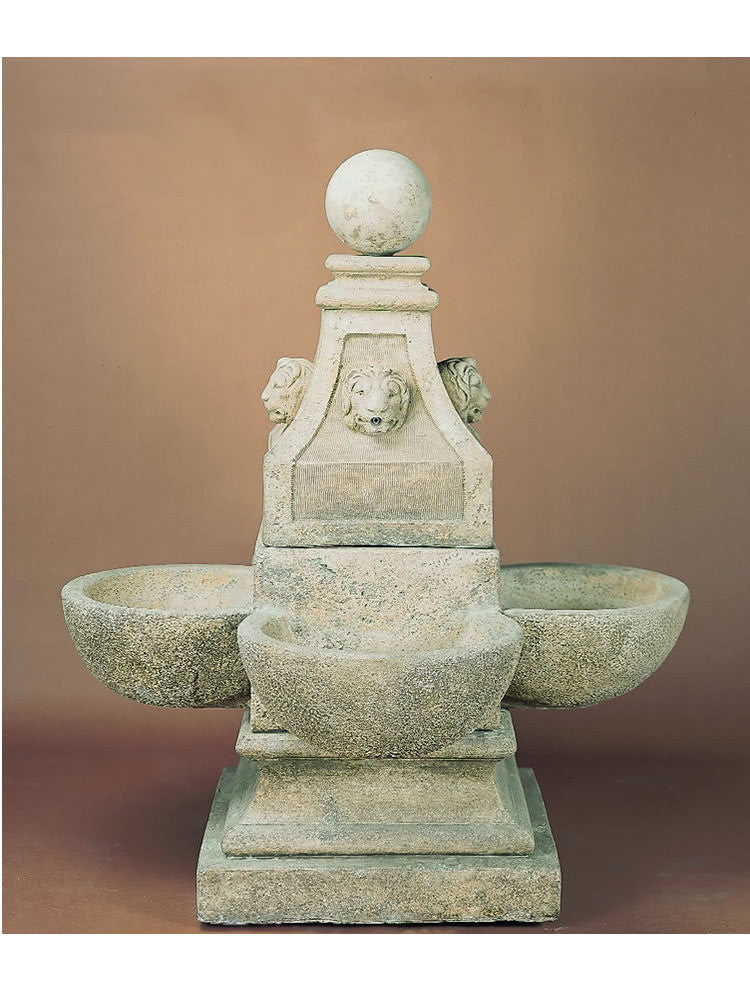 Venetian Outdoor Water Fountain - Soothing Walls