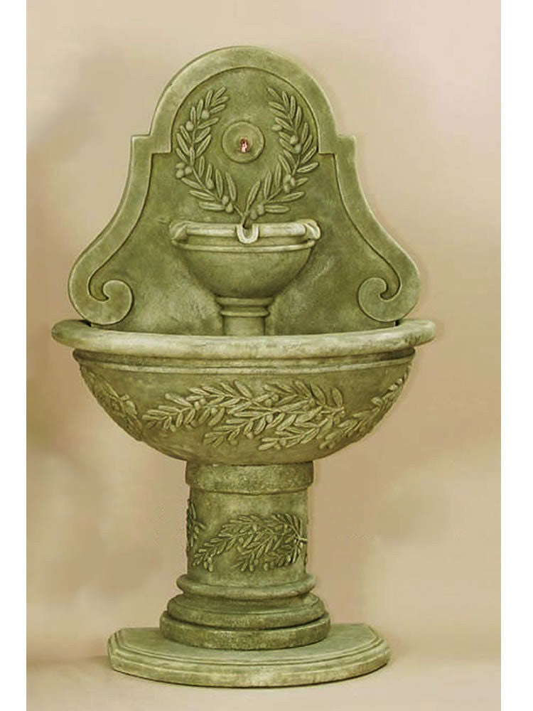 Oliva Wall Outdoor Water Fountain - Soothing Walls