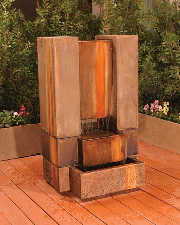 Guillotine Garden Water Fountain - Soothing Walls