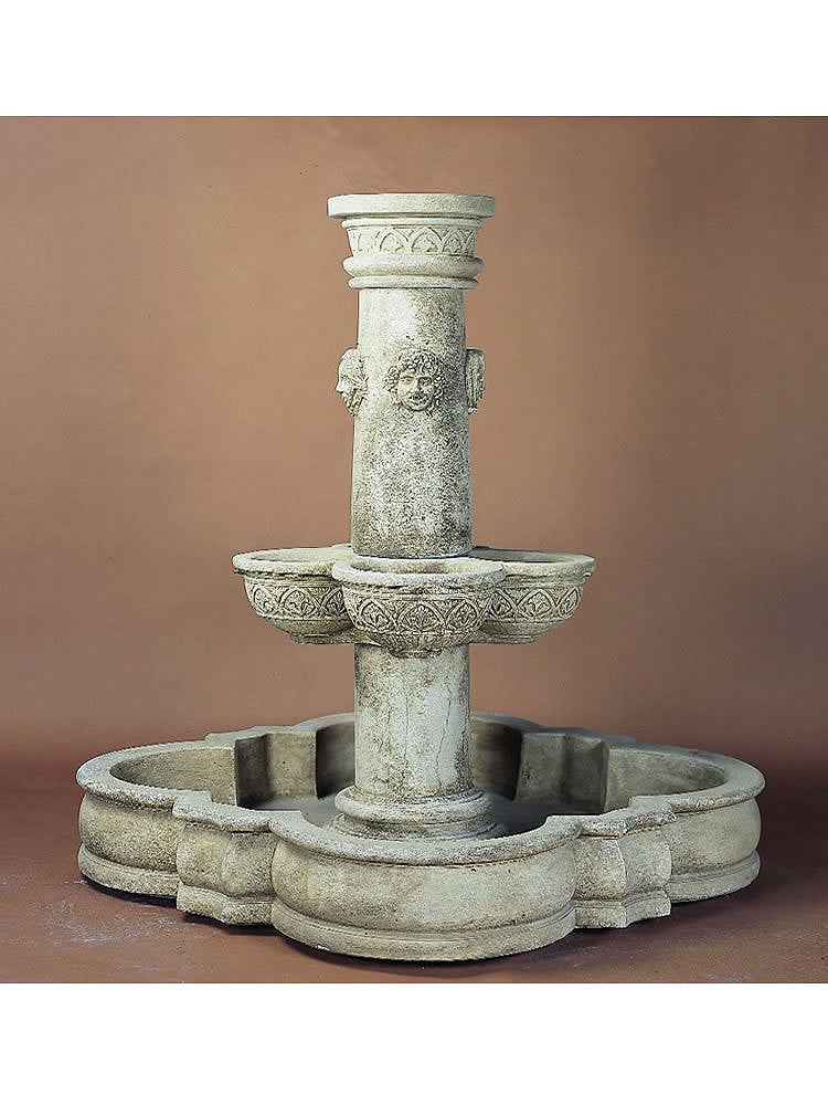 Stagioni Pond Outdoor Water Fountain - Soothing Walls