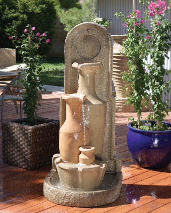 Carafe Garden Water Fountain - Soothing Walls