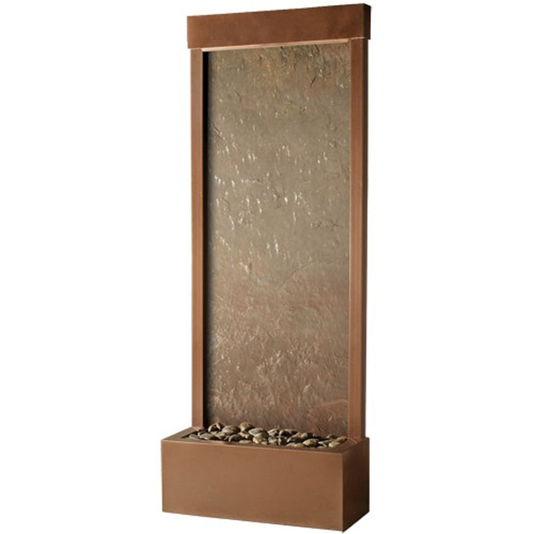4' Gardenfall Slate Floor Fountain - Soothing Walls