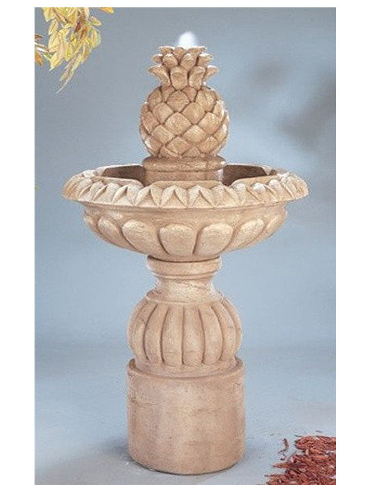 Pina Cascada Outdoor Water Fountain - Soothing Walls