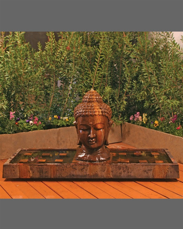 Buddha Outdoor Water Fountain - Soothing Walls