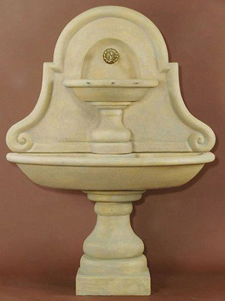 Belair Wall Outdoor Water Fountain For Spout - SoothingWalls