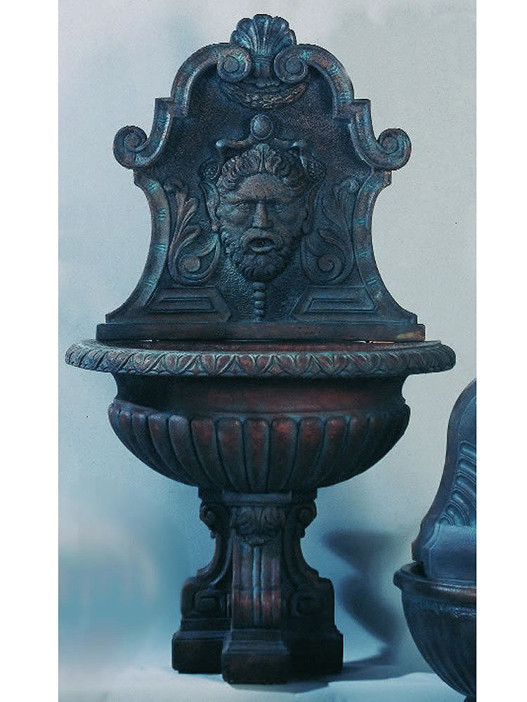 Vinci Wall Outdoor Water Fountain - Soothing Walls