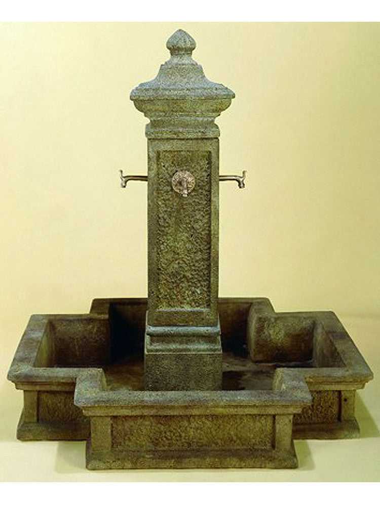San Martino Outdoor Water Fountain for Spouts - Soothing Walls
