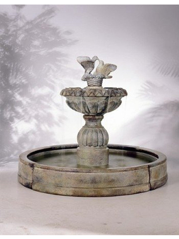 Paloma Cascada in Valencia Pool Outdoor Fountain - Soothing Walls