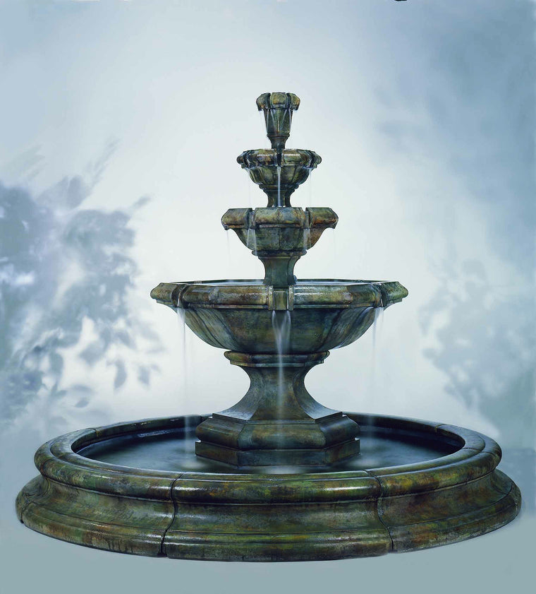 Grande Kensington Three Tier Fountain - Soothing Walls