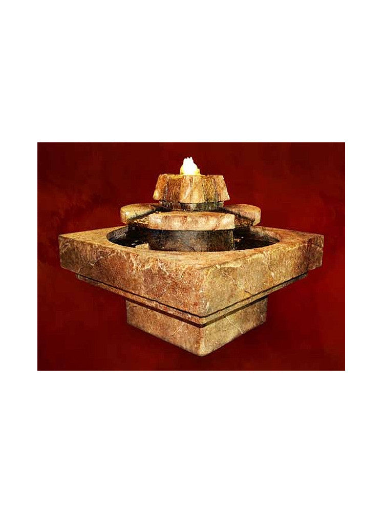 Stone Edge Cascade Fountain - Soothing Walls