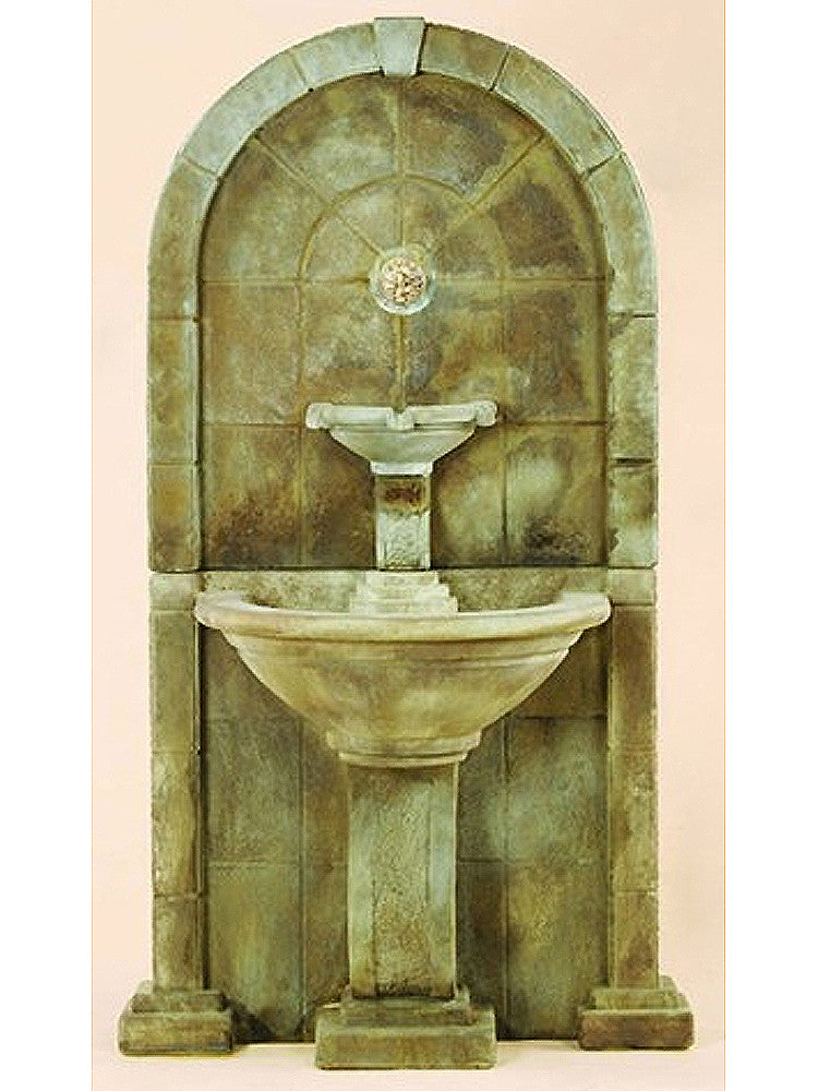 Amalfi Wall Outdoor Water Fountain for Spout - SoothingWalls