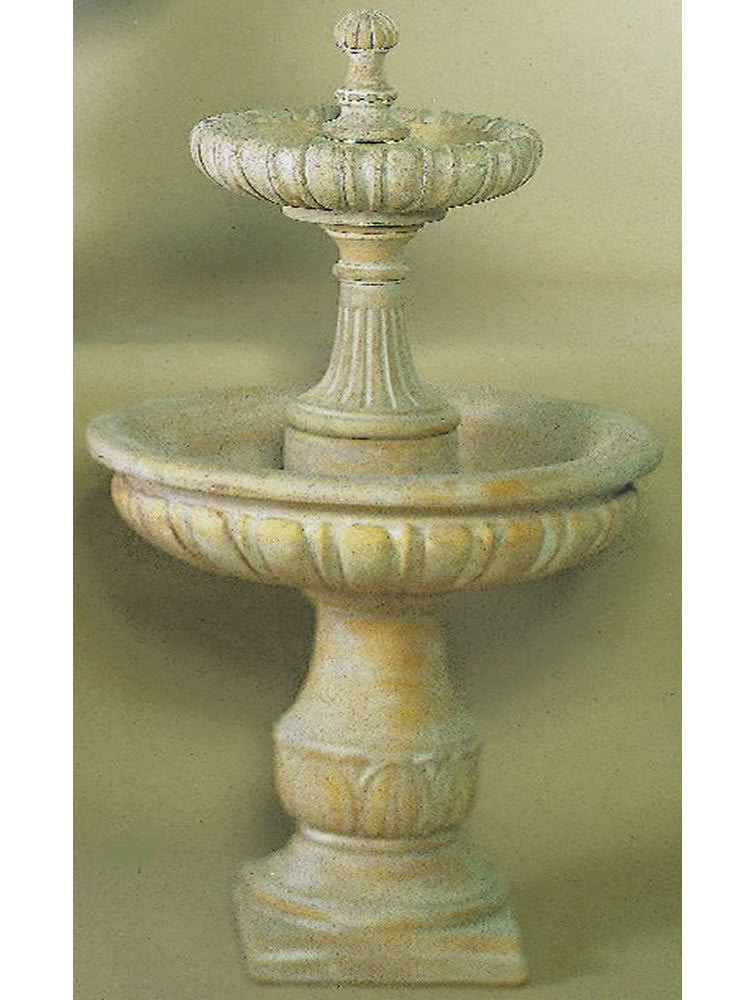 Tivoli Two Tier Outdoor Water Fountain - Soothing Walls
