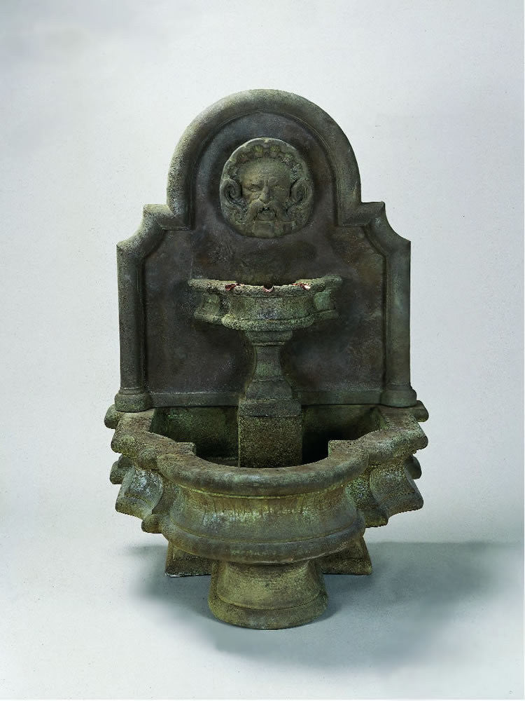 Mascaron Wall Outdoor Water Fountain - Soothing Walls