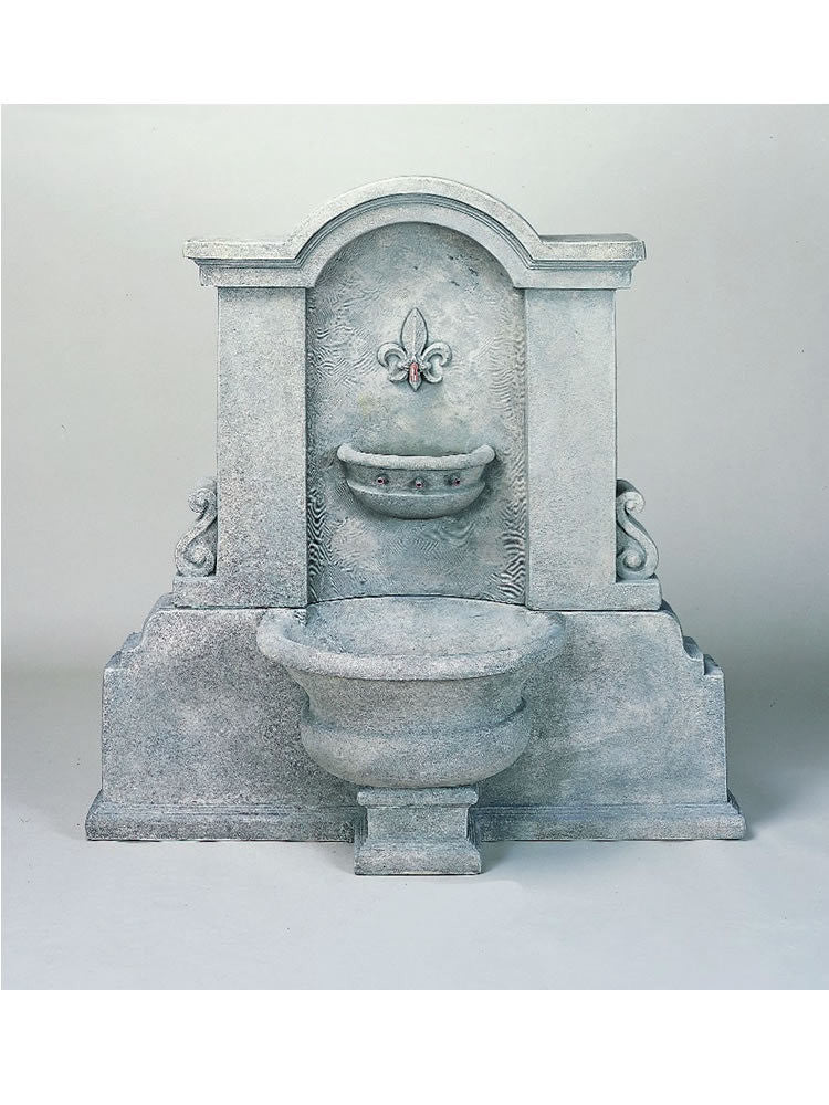 Flaminia Wall Outdoor Water Fountain - Soothing Walls