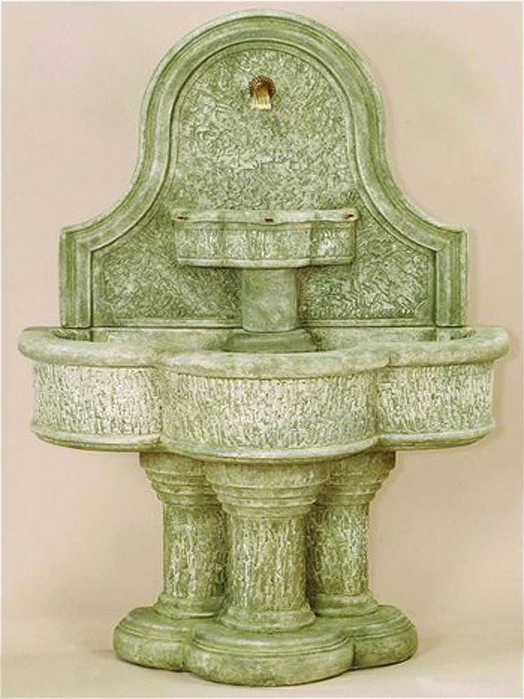 Lavica Wall Outdoor Water Fountain for Spout - Soothing Walls