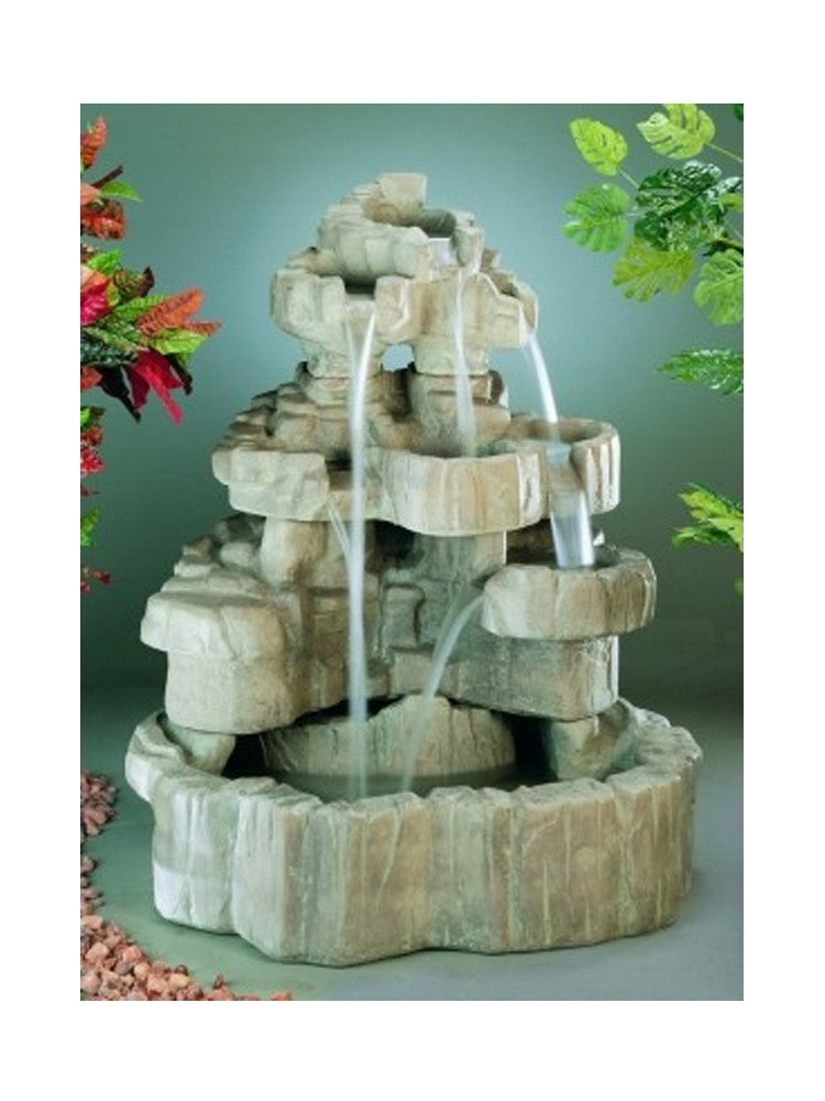 Large Rock Falls Fountain - Soothing Walls
