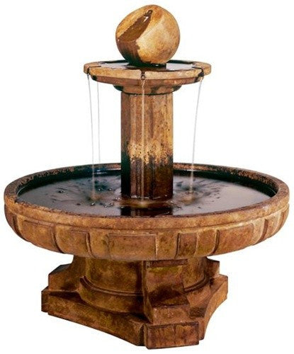 Regal Sphere Outdoor Water Fountain - Soothing Walls