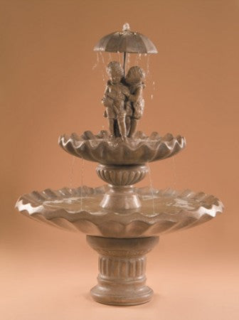 Sweetheart 2-Tier Garden Water Fountain - Soothing Walls