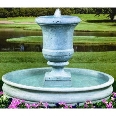 Tall Urn Fountain - Large - Soothing Walls