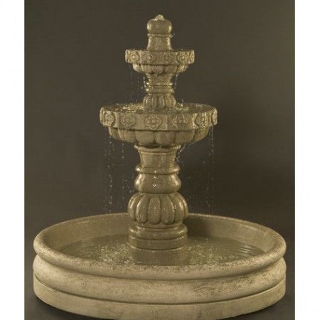 Margarita Fountain with 46 inch Basin - Soothing Walls