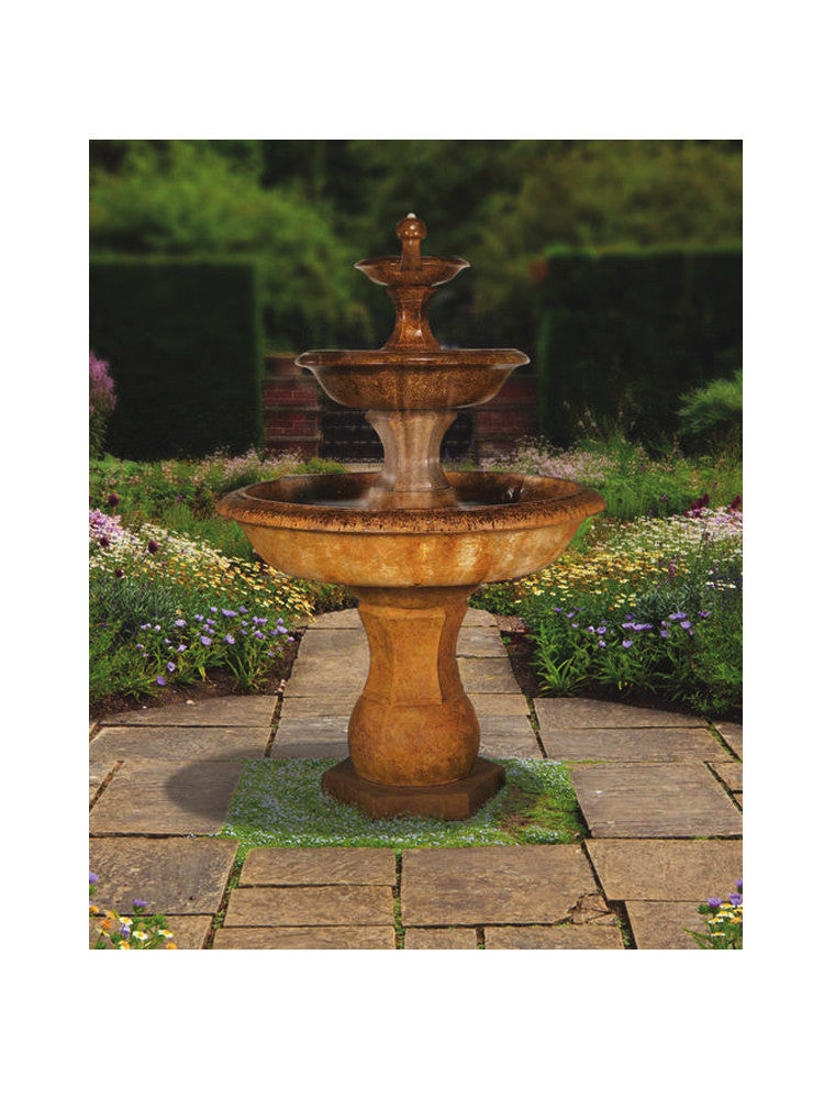 Grande Barrington Outdoor Fountain - Soothing Walls